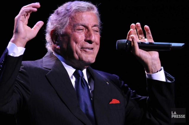 Tony Bennett... (Photo Bernard Brault, Archives La Presse)