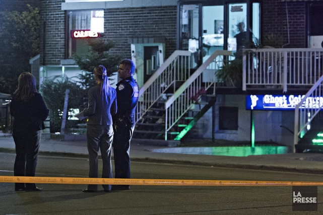 Un homme de 27 ans a été tué par balle dans la nuit de vendredi à samedi près... (Photo Félix O.J. Fournier, collaboration spéciale)