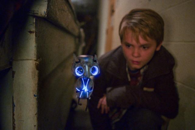 L'extraterrestre Echo pique la curiosité d'une bande d'enfants... (Photo fournie par RML Echo films)