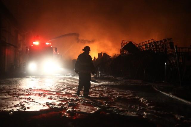 La tension est montée à la frontière entre... (Photo DAVID BUIMOVITCH, AFP)