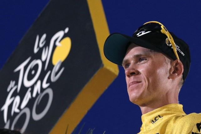 Le champion de la100e édition du Tour de... (PHOTO CHRISTOPHE ENA, ARCHIVES AP)