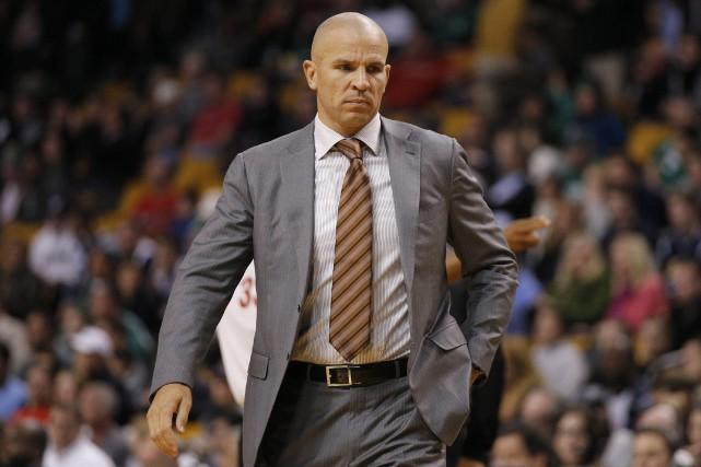 L'entraîneur des Nets de Brooklyn, Jason Kidd.... (Photo David Butler II, USA Today Sports)