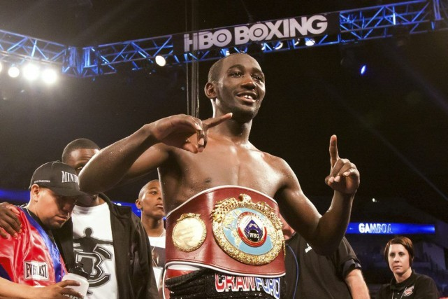 Terence Crawford... (Photo John Peterson, AP)