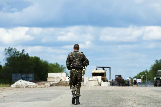 Depuis le déclenchement d'une opération militaire ukrainienne le... (Photo JOHN MACDOUGALL, AFP)