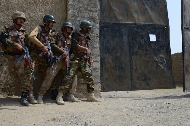 Les combats avaient commencé le 19 juin lorsque... (Photo Archives AFP)