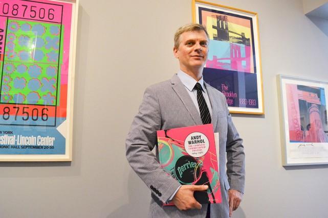 Paul Maréchal présente sa collection privée à travers... (Photo Émélie Bernier, Collaboration spéciale)