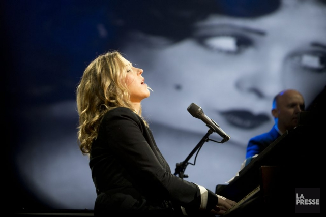 Diana Krall... (Photo: Olivier Jean, archives La Presse)