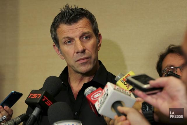 Marc Bergevin, le DG du Canadien de Montréal,... (PHOTO FANNY LACASSE, LA PRESSE)