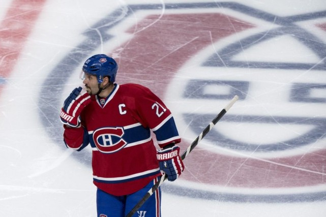 Le capitaine Brian Gionta est encore sans contrat... (Photo d'archives, La Presse Canadienne)