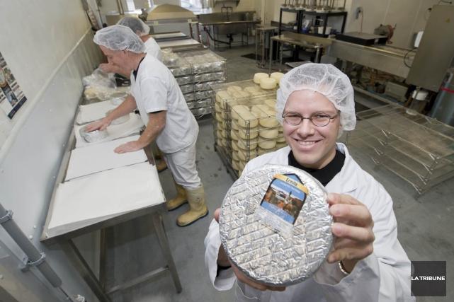 Selon le directeur de la fromagerie de l'Abbaye,... (Photo Jessica Garneau, La Tribune)