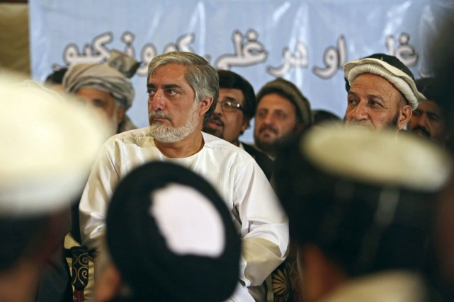 Abdullah Abdullah... (PHOTO RAHMAT GUL, ARCHIVES AP)