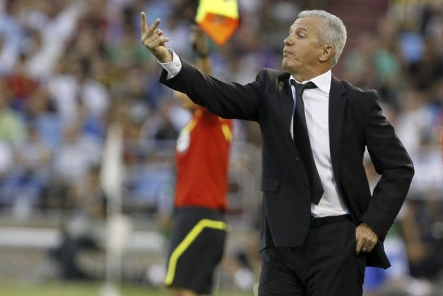 Javier Aguirre... (PHOTO CESAR MANSO, AFP)