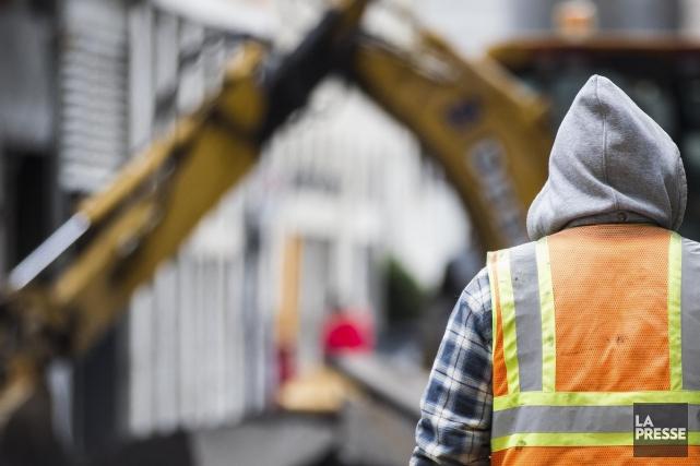 L'industrie de la construction compte près de 175... (Photothèque La Presse)
