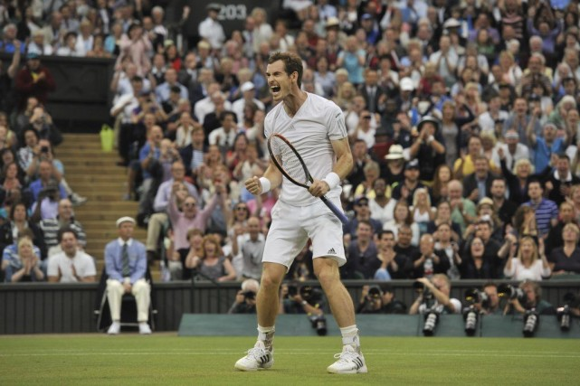 Andy Murray... (PHOTO GLYN KIRK, AGENCE FRANCE-PRESSE)
