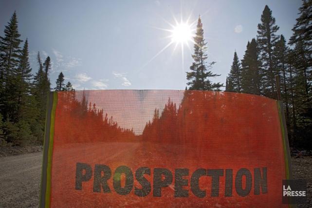 La Commission géologique du Canada en est venue... (Photo Ivanoh Demers, archives La Presse)