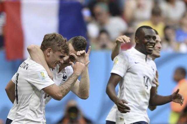 La France affrontera en quarts de finale l'Allemagne,... (Photo AFP)