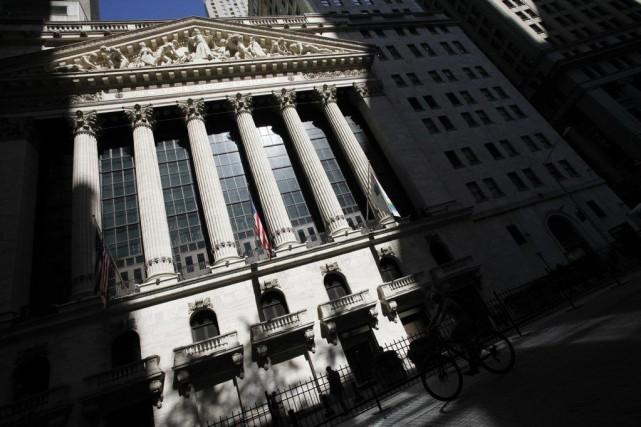 Wall Street, entraînée par l'optimisme des investisseurs sur la croissance... (PHOTO MARK LENNIHAN, REUTERS)