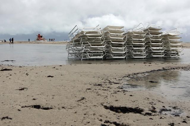 La tempête tropicale Arthur s'est formée au large des côtes centrales de la... (Photo Lynne Sladky, AP)