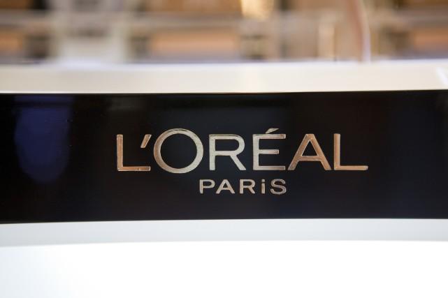 Les publicités du numéro un mondial des cosmétiques... (Photo David Levenson, Bloomberg)