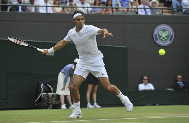 Wimbledon federer et wawrinka en quarts de finale tennis - Joueur de tennis espagnol ...