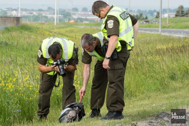 Un motocycliste a perdu la vie en tentant... (Photo collaboration spéciale, Steve Jolicoeur)