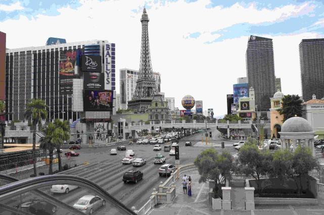 Le Las Vegas Boulevard.... (Photo Marc Larouche, collaboration spéciale)