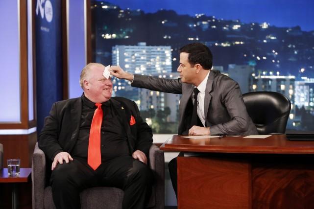 Comme plusieurs autres émissions de fin de soirée,... (Photo Randy Holmes, La Presse Canadienne)