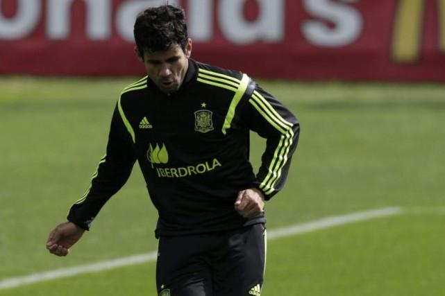 Diego Costa... (PHOTO HENRY ROMERO, REUTERS)