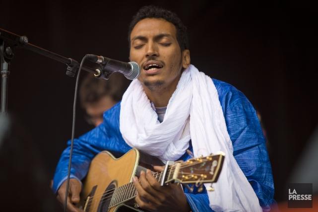 Le guitariste touareg Bombino.... (Photo André Pichette, archives La Presse)