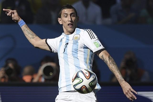 Le but argentin a été marqué par Di... (Photo AFP)