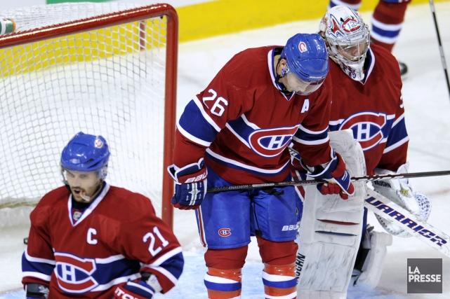 Les récents succès du Canadien ont mené Marc... (Photo Bernard Brault, archives La Presse)