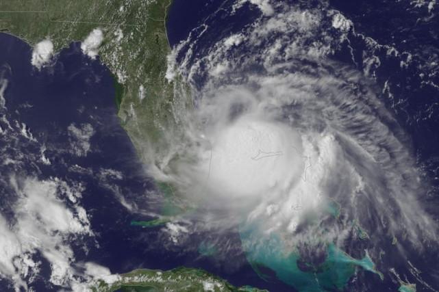 L'épicentre de la tempête se trouvait sur la... (PHOTO ASSOCIATED PRESS)
