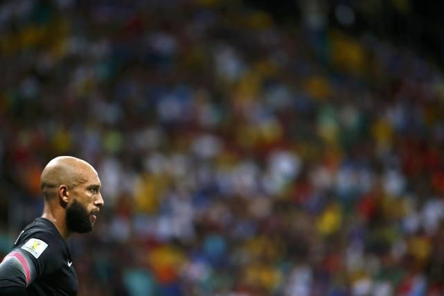 Tim Howard... (Photo Michael Dalder, Reuters)
