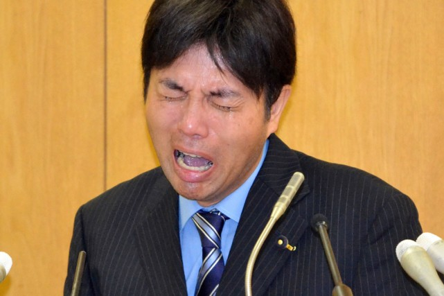 Mardi, Ryutaro Nonomura, un député provincial de 47... (PHOTO AFP/JIJI PRESS)