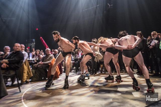 Vétérans des cabarets allemands, les acrobates du cirque... (PHOTO OLIVIER PONTBRIAND LA PRESSE)