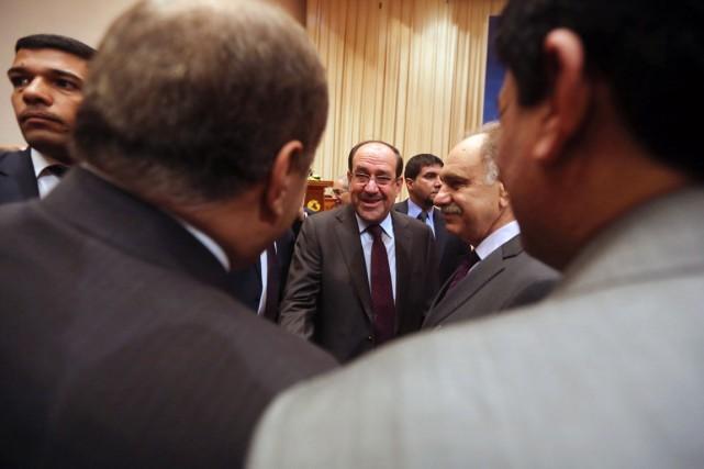 Le premier ministre Nouri al-Maliki a décrété une... (PHOTO AHMAD AL-RUBAY, ARCHIVES AFP)