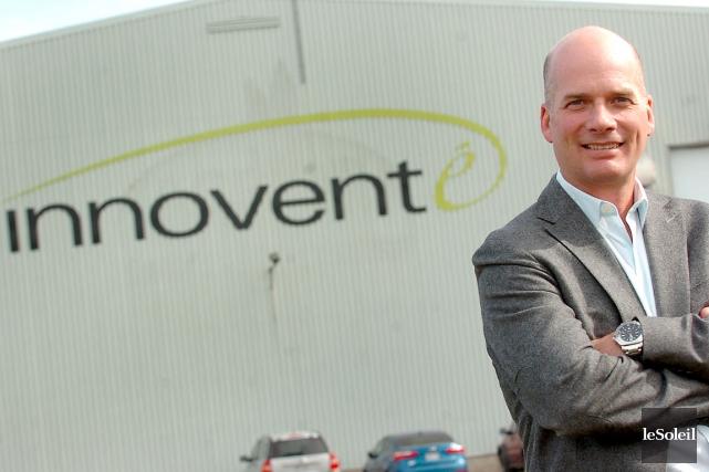 Le président et fondateur d'Innovente, Richard Painchaud... (Photothèque Le Soleil, Jean-Marie Villeneuve)