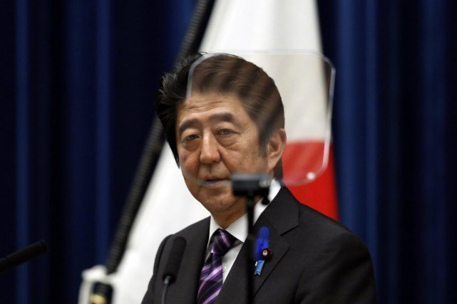 Le premier ministre japonais Shinzo Abe.... (Photo Reuters)