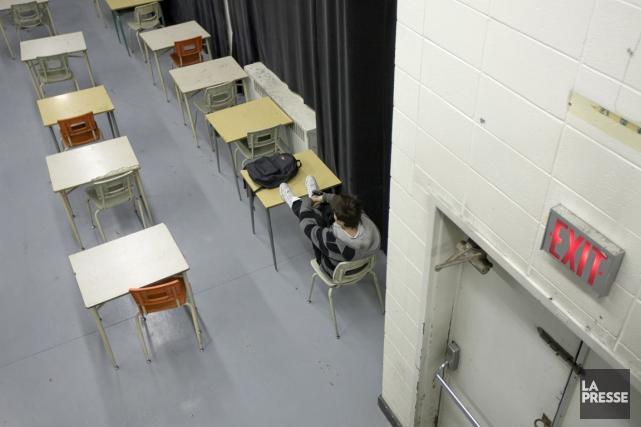 Depuis le dépôt du budget Leitao au début... (Photo Alain Roberge, archives La Presse)