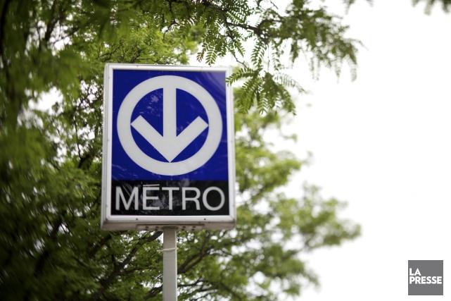 Le service a été interrompu sur toute la ligne jaune du métro de Montréal... (PHOTO SARAH MONGEAU-BIRKETT, LA PRESSE)