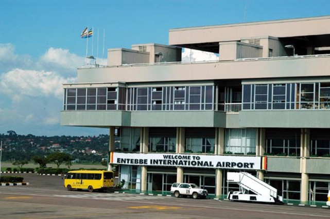 Une menace spécifique d'attaque plane sur l'aéroport international... (PHOTO AÉROPORT INTERNATIONAL D'ENTEBBE)