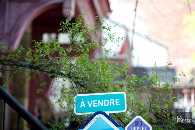 Les agents immobiliers sont les premiers à s'en plaindre. Le marché résidentiel... (PHOTO SARAH MONGEAU-BIRKETT, ARCHIVES LA PRESSE)