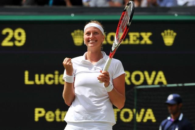 Petra Kvitova... (Photo Glyn Kirk, AFP)