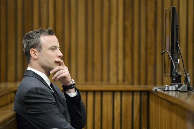 Pistorius, 27 ans, a une «double personnalité», et... (PHOTO HERMAN VERWEY, AFP)