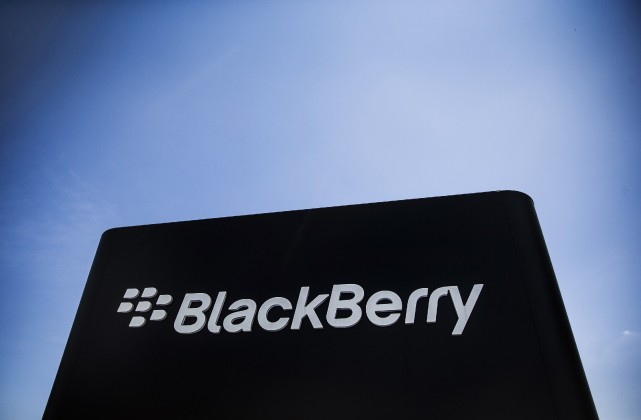 BlackBerry (T.BB) a annoncé lundi la nomination de Marty... (Photo Mark Blinch, Reuters)