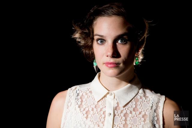 Danica Plamondon-Gagnon, spécialiste de trapèze, mais aussi de... (Photo Alain Roberge, archives La Presse)