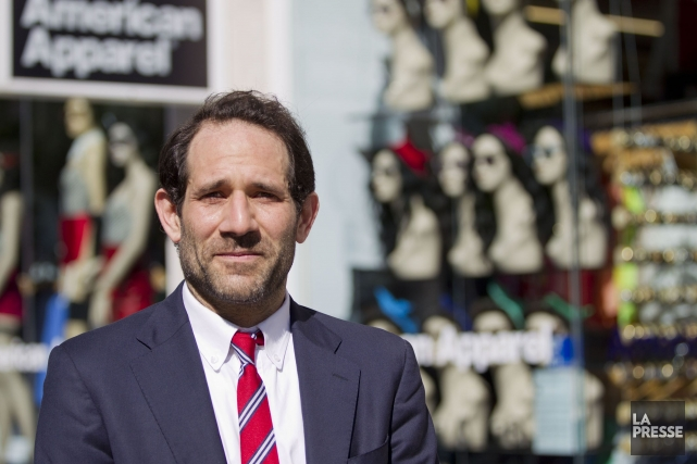 Dov Charney... (PHOTO ANNE GAUTHIER, LA PRESSE)