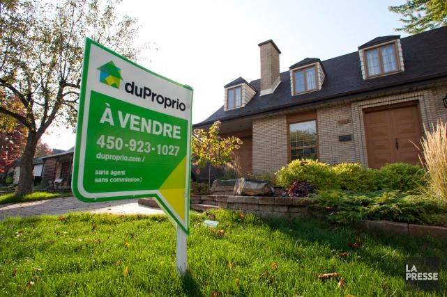 En mai, le prix moyen des maisons revendues... (PHOTO MARTIN CHAMBERLAND, ARCHIVES LA PRESSE)