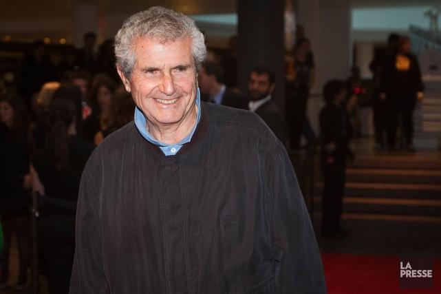 Le réalisateur français Claude Lelouch lors de la... (Photo Olivier PontBriand, archives La Presse)