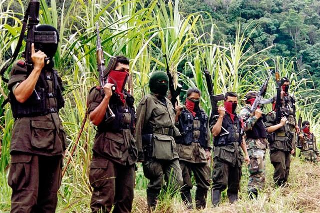L'ELN est la seconde rébellion d'extrême gauche après... (PHOTO ARCHIVES AGENCE FRANCE-PRESSE)